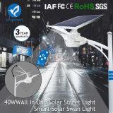 15W/20W/30W/40W/50W/60W/80W/100W Solar Lamp Outdoor Motion Sensor LED Street Garden Light with Solar Panel