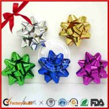 New Design Gift Decoration Printed Star Bow