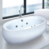 Ningjie Sanirary Ware Bathroom Acrylic Bath (9002B)