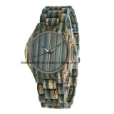 New Design Full Printing Bamboo Wood Watch with Japan Movement