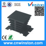 Aluminum High Power Extrusion Profile Extruded Heat Sink with CE