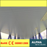 Aluminum Metal Linear H Strip False Suspended Decorative Panel Ceiling