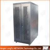 Server Rack with Bi-Fold Perforated (Mesh) Doors