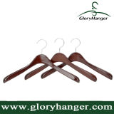 Luxury Wide Shoulder Coat Garment Hanger with Retro Finish