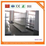 Single Sided Supermarket Metal Wall Shelf