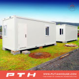 Modular 20 Feet Prefabricated Container House for Dormitory, Single Department
