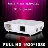 LED Mini Full HDMI Low Noise RoHS LED Projector