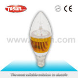 Candle Shaped LED Bulb with Two Years Warranty