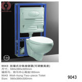 Factory Price Two Piece Toilet Sanitary Ware (9043)