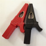 20A Copper Clip PVC Boot Battery Clip/Alligator Clip (RJ-Y123)
