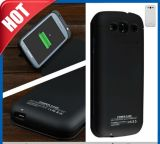 3200mAh External Battery Charger Leather Flip Case for Galaxy S3