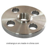 En1092 Stainless Carbon Alloy Steel Threaded Flange Yellow for Pipe Fitting