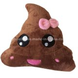 New Arrival Lovely Bow Design Shit Emoji Pillows Plush Stuffed Toy Pillow