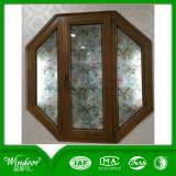 Aluminum Clad Wood Window Design with American Style