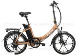"20"" 250W Folding Electric Bike with USB Port"