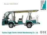 Eg6118k, Eagle Generator Elecrric Shuttle Bus Sightseeing Bus for Air Transportation.