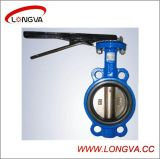 High Quality Cast Steel Wafer Type Butterfly Valve