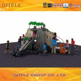 Outdoor Children Playground Eqipment PE Forest House PE-01201