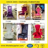 Hotel Furniture Type and Hotel Chair Luxury High Back Decoration