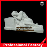 Peaceful Dreams Female Marble Statue