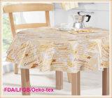 Oilproof Waterproof PEVA Printed Table Cloth Factory