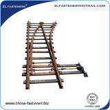 Railway Steel Rail Turnout Switch