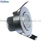 3W Dimmable Customized LED Ceiling Light (DT-TH-3B1)