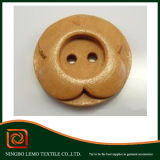 New Style Flower Wooden Button