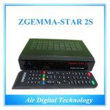 Digital Satellite Receiver Zgemma-Star 2s Twin DVB-S2 Tuner Original Support