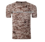 Custom Top Quality Cotton Plain T Shirt with Round Neck