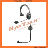 Light Headset Headphone with Flexible Boom Microphone (RHS-0450)
