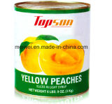 3kg Canned Yellow Peach in Tin
