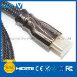 Metal Assembly HDMI 19pin Plugto Plug Cable Black Plug