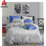 Flower Printed 100% Polyester Comforter Set for Bedroom Use