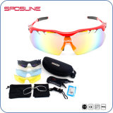 Replacement 5 Lens Full Set Anti-Skid Mens Bike Riding Cycling Sun Glasses