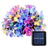 2017 Christmas LED Waterproof Solar Powered String Flower Lights for Indoor/Outdoor, Patio, Lawn, Garden, Xmas, and Holiday Festivals