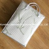 250GSM Bamboo Fibers Jacquard Fabric with TPU Waterproof Mattress Protector