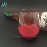 16oz Tritan Plastic Stem Wine Glass, Elegant Plastic Wine Cup