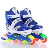 Simple Design Kids Inline Roller Skate Shoes Adjustable Skate