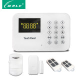 LED Display Touch Keypad Wireless PSTN Alarm with Touch Keypad