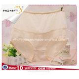 Wholesale Women Jacquard Cotton Briefs High Waist Mature Ladies Classic Briefs Lady Panty