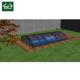 Cheap Design Polycarbonate Pool Cover with Durable Aluminium Frame