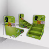 Makeup Store Cardboard Counter Top Display Stand for Cosmetics Sales