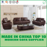 New Model Office Furniture Modern Genuine Leather Sofa Set