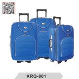 Cheap Shantung Silk 3PCS SKD Outside Trolley Luggage