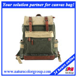 Students Leisure Canvas Backpack for Laptop and Campus