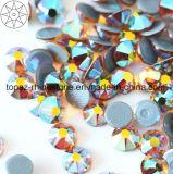 2088 Lastset Best Selling Ss16 Amber Ab Hot Fix Rhinestone Glass Crystal Copy Preciosa Hot Fix Rhinestone (HF-ss16 amber ab /5A grade)
