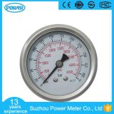 60mm Back Type High Quality Stainless Steel Case Pressure Gauge