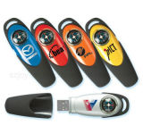 High Quality Promotional Compass USB Flash Disks with Logo Printing