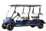 Electric Golf Car/Cart/Buggy, Sightseeing Car, Utility Vehicle (DEL3042GS, 4-Seater)